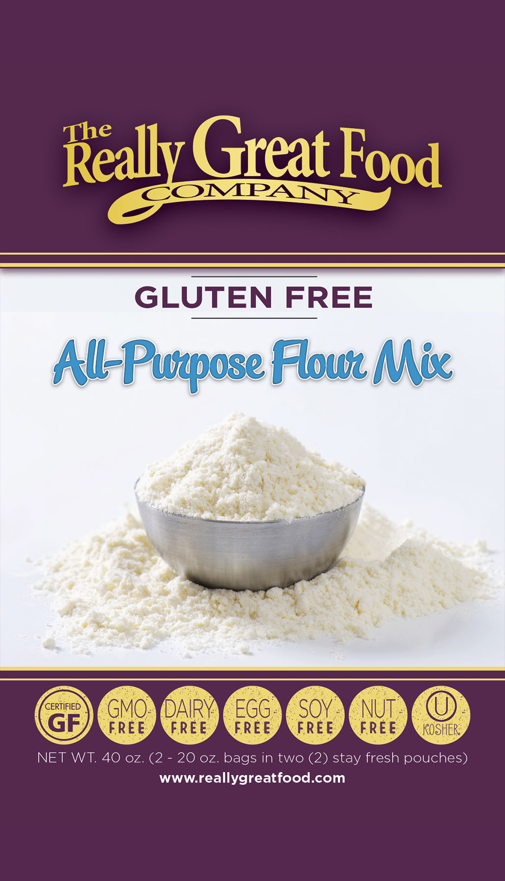 Gluten Free All-Purpose Flour Mix