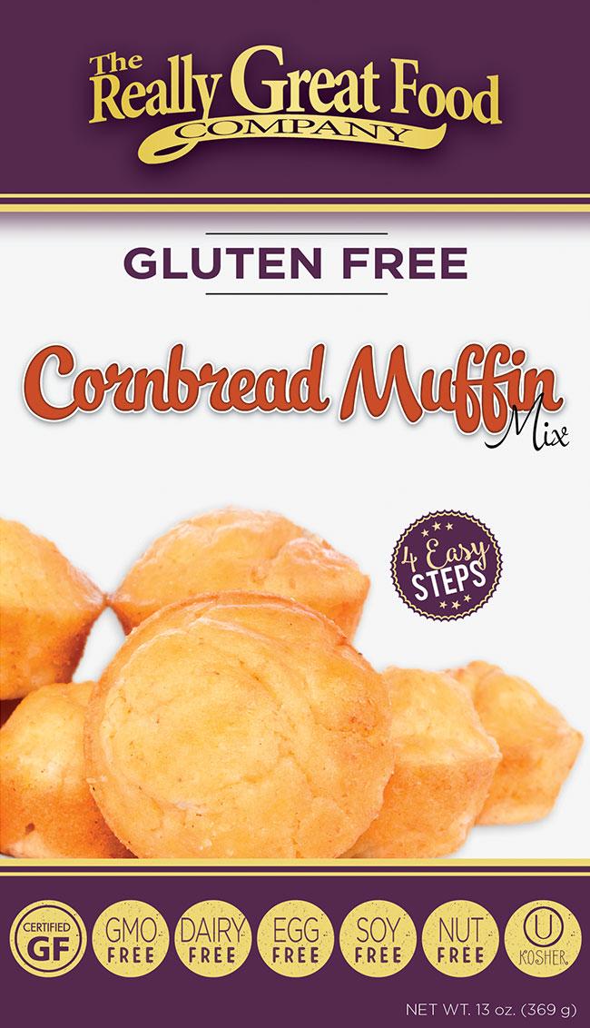 Gluten Free Cornbread Muffin Mix