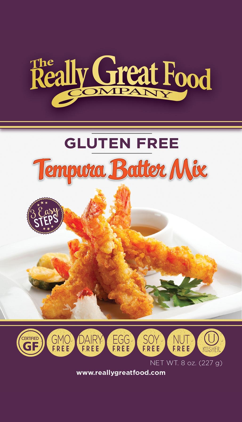 Gluten Free Tempura Batter Mix