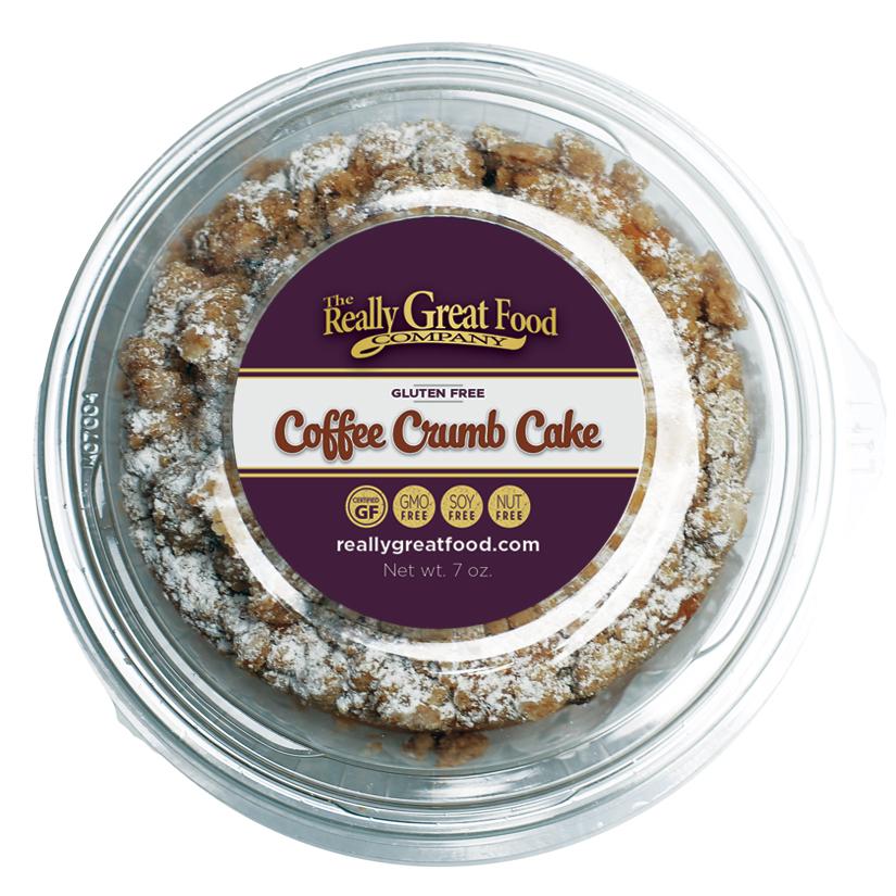Coffee Crumb Cake (4-pack)