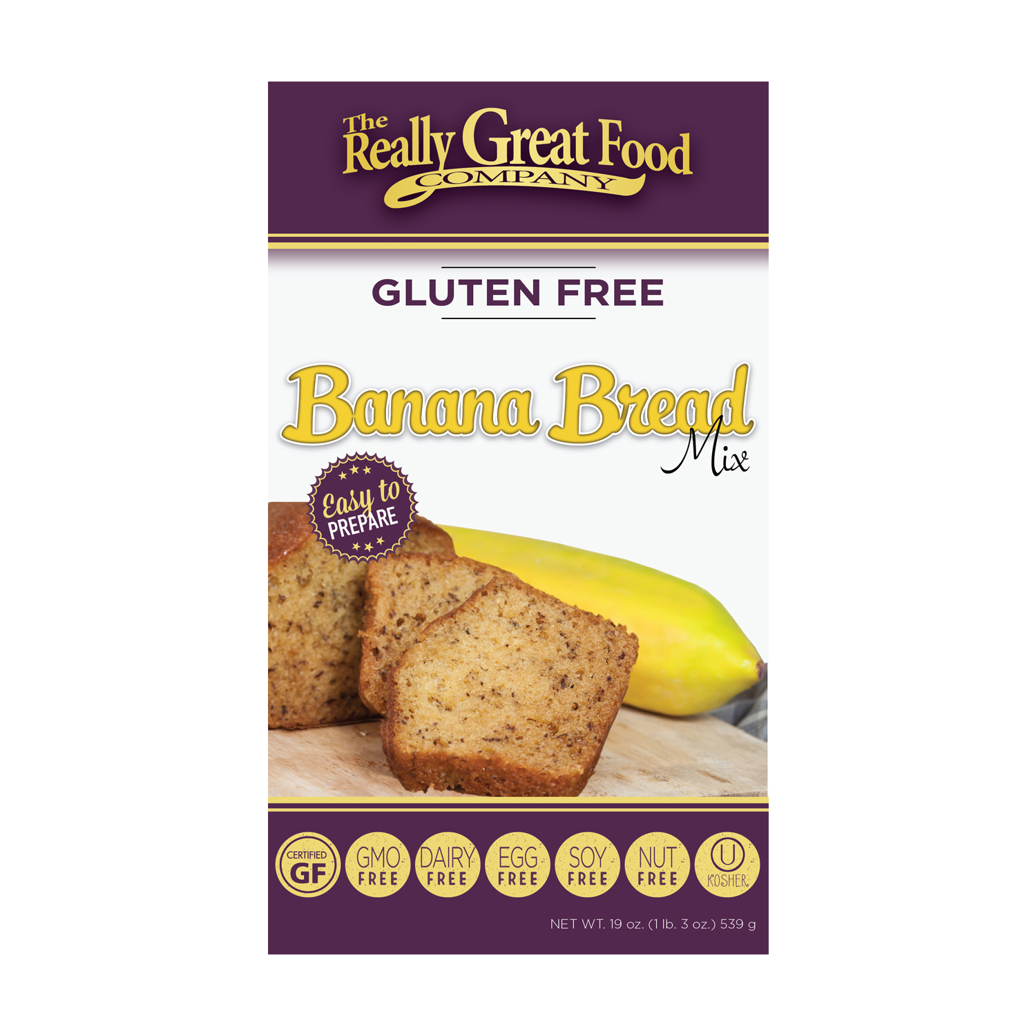 Gluten Free Banana Bread Mix
