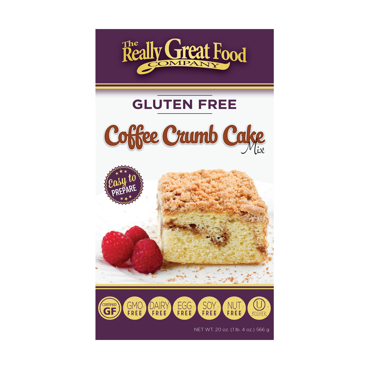 Gluten Free Coffee Cake Mix