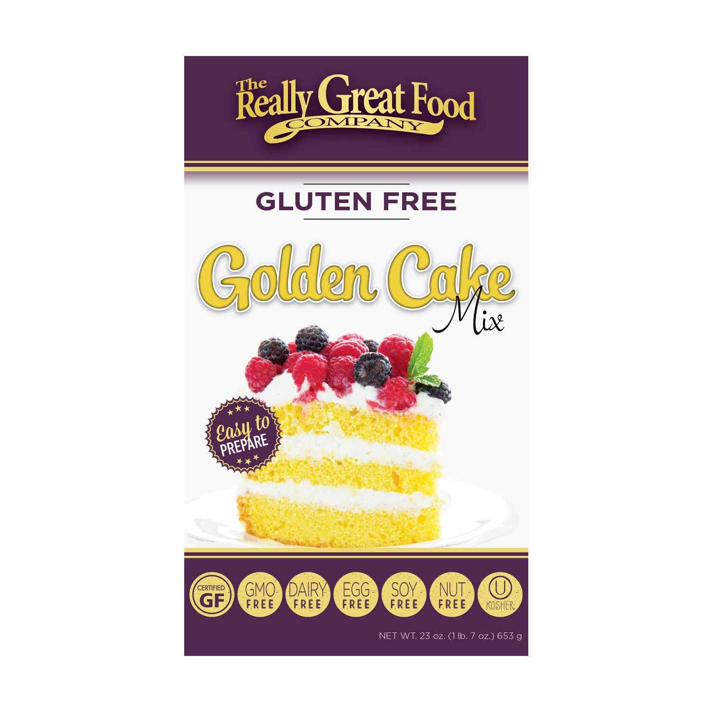 Gluten-Free Golden Cake Mix