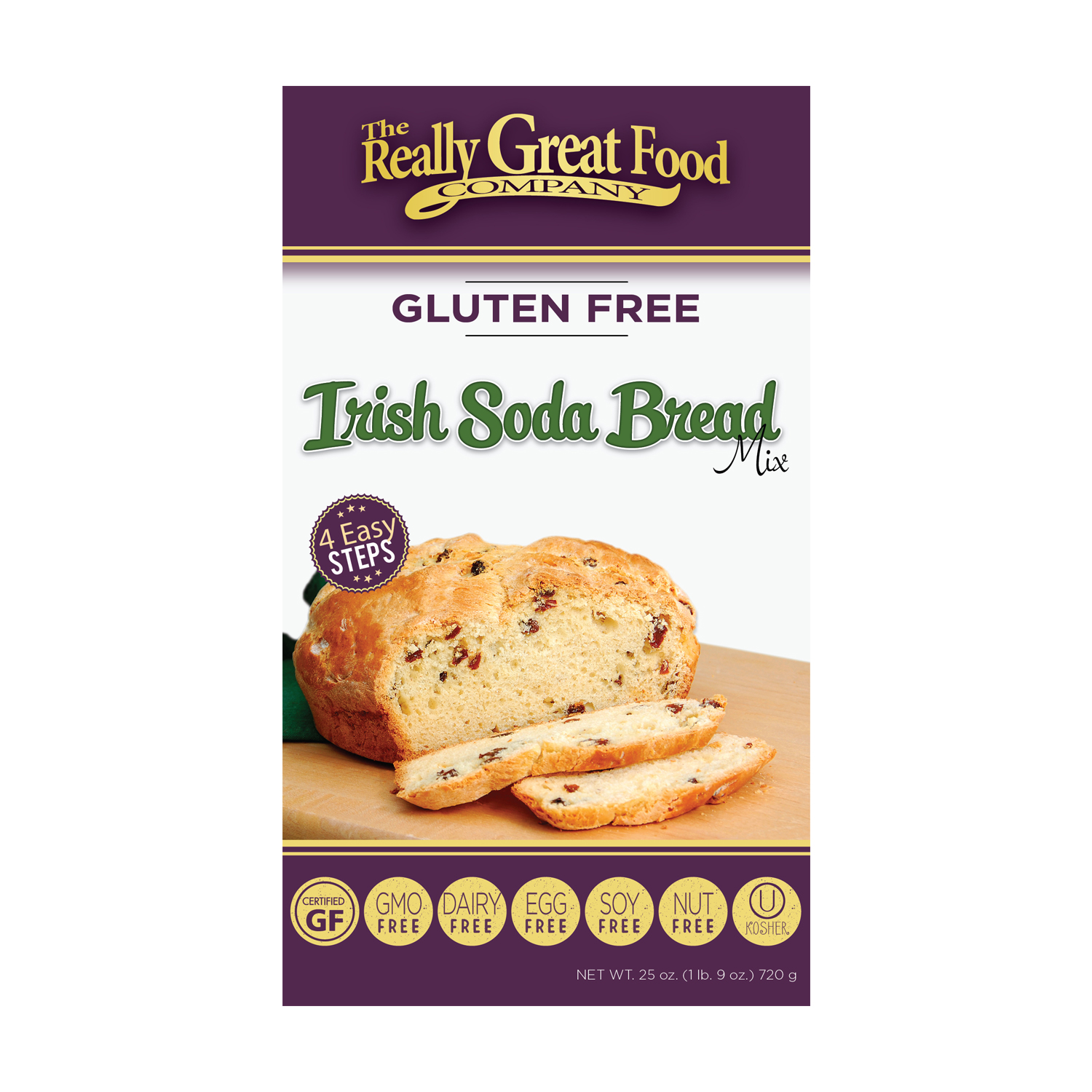 Gluten Free Irish Soda Bread Mix