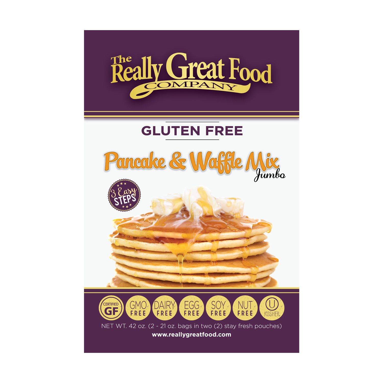 Gluten-Free Pancake & Waffle Mix - Jumbo