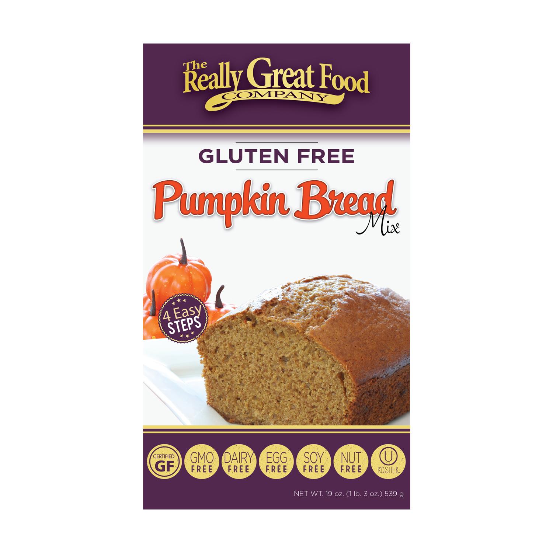 Gluten-Free Pumpkin Bread Mix