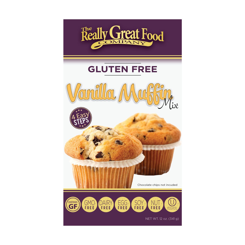 Gluten-Free Vanilla Muffin Mix